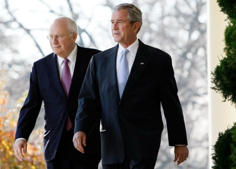 Image: Bush and Cheney