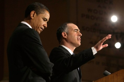 Image: Sen. Bob Casey and Sen. Barack Obama