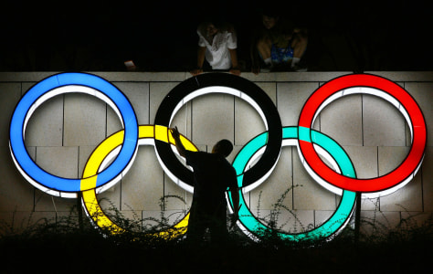 Image: Olympics rings