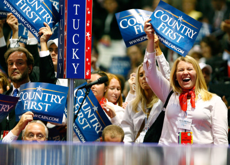 Image: 2008 Republican National Convention goers