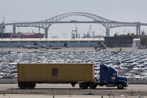 Image: LA port