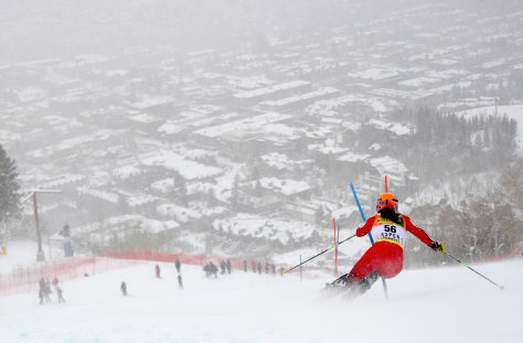 Image: Ski race at Aspen