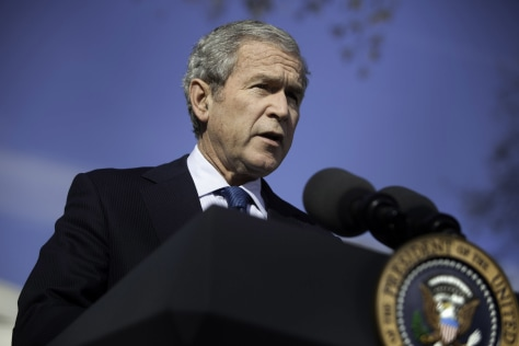 President Bush Speaks On The Economic Crisis