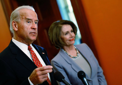 iImage: Vice President Joe Biden and House Speaker Nancy Pelosi