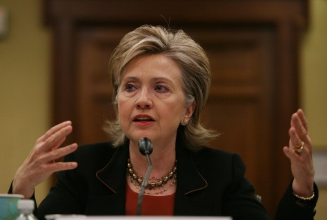 Clinton Testifies At House Hearing On State Department Budget