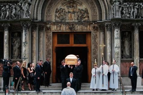 Image: Walter Cronkite funeral