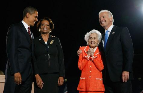 Image: Obamas, Bidens
