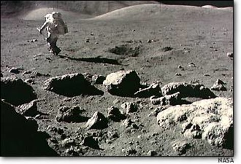 Image: Harrison Schmitt on Apollo 17