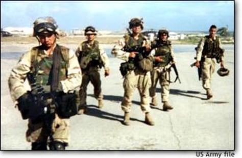 Image: Rangers in Mogadishu