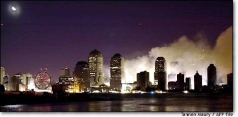 Image: Us-attacks-night Skyline 04