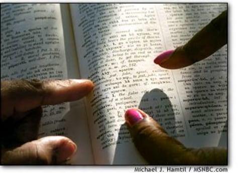 Image: Asante-language dictionary