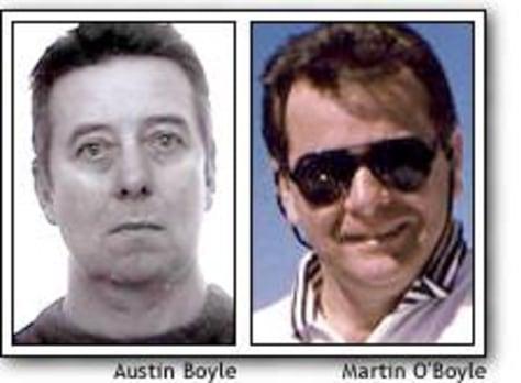 Image: Austin and Martin O'Boyle