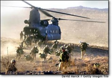 Image: U.S. Soldiers Fight Taliban and Al Qaeda