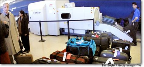 Image: New Baggage Screening Law Begins