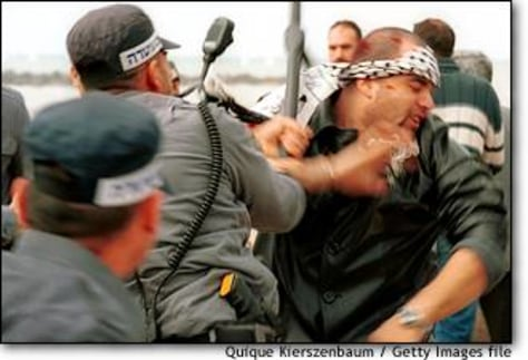 Image: Israeli Arabs Clash With Police