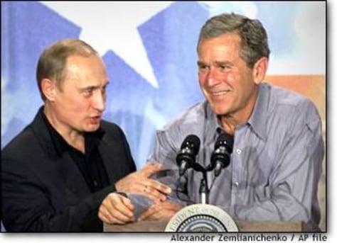 Image: Bush Putin