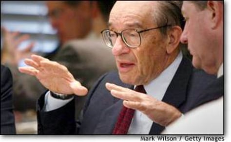 Image: Alan Greenspan Speaks At Luncheon
