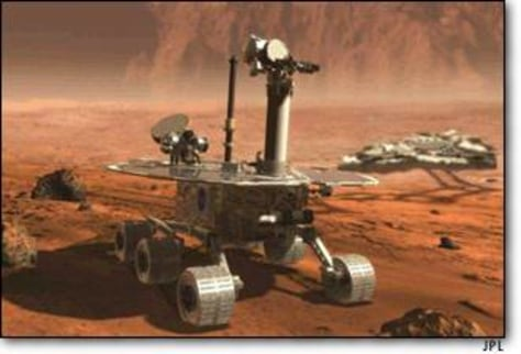 Image: Mars Exploration Rover