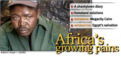 Image: Africa's growing pains