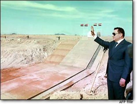 Image: Mubarak