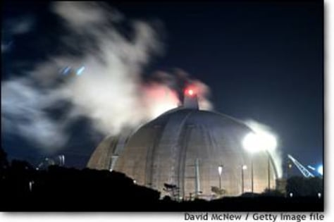 Image: San Onofre nuclear plant