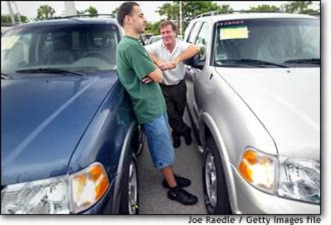Image: Auto sales