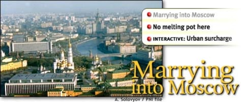 IMAGE: Marrying into Moscow; content navigation