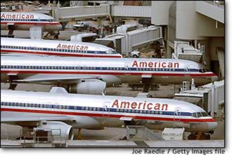 Image: FILE PHOTO American Airlines Raising Financing For Chapter 11 Bankruptcy