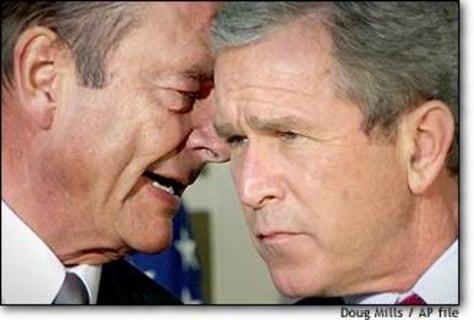 Image: Bush Chirac