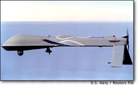 Image: File Photo Of Unmanned Us Predator Surveillance Aircraft