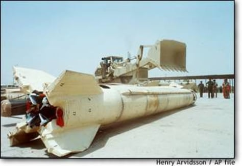 Image: Scud Missiles Destroyed