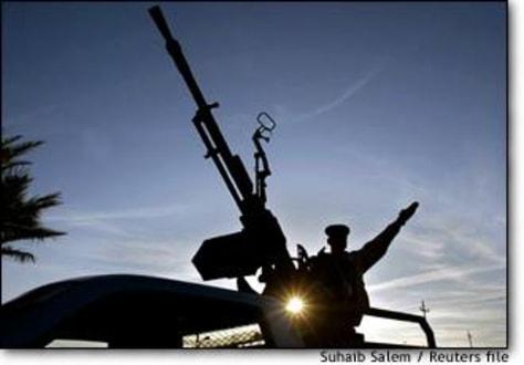 Image: Iraqi antiaircraft gun