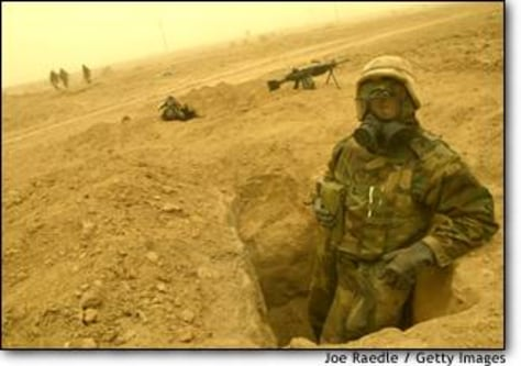 Image: Coalition Forces Move Through Southern Iraq