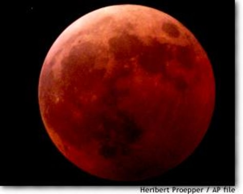 blood moon eclipse bible verse - photo #40