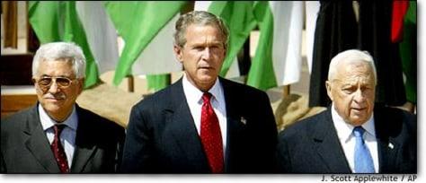 Image: Bush Abbas Sharon Abdullah