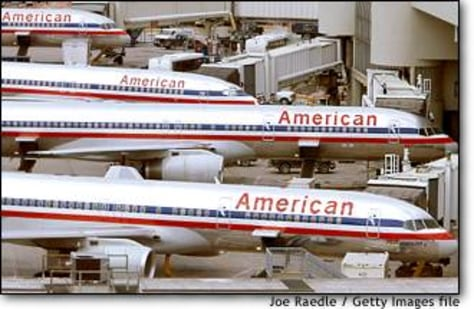 Image: American Airlines jets