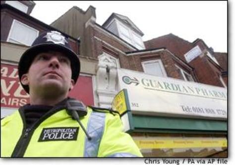 Image: Police Terror Arrests