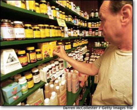 Image: Health Food Store Products