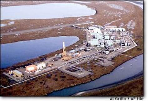 Image: Alaskan oil field