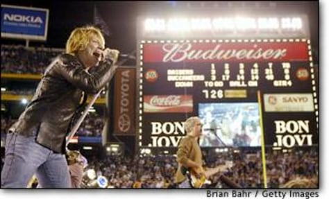 Image: Bon Jovi post game
