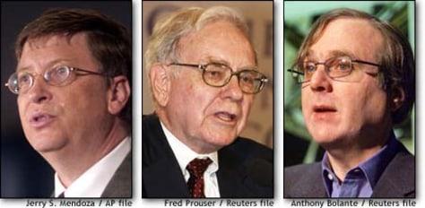 Image: Gates, Buffett, Allen