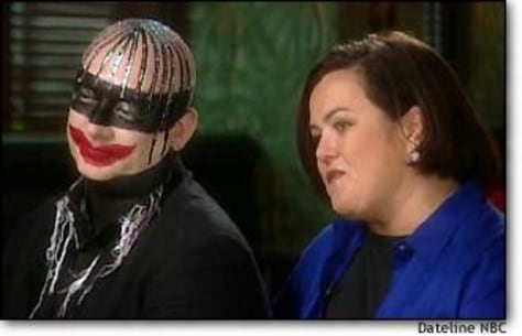 Image: Boy George and Rosie O'Donnell