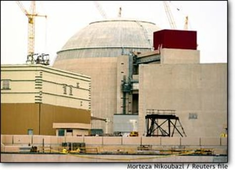 Image: File Photograph Of Russian-built Bushehr Nuclear Power Plant In Southern Iran