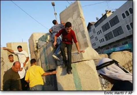 Image: Mideast Israel Palestinians
