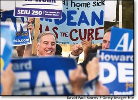 Image: Howard Dean Campaigns In San Francisco