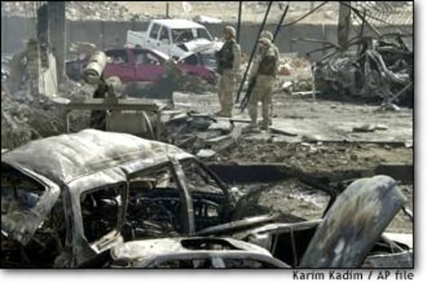 Image: Iraq Explosions