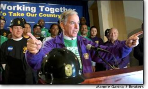 Image: Afscme Endorses Howard Dean For President