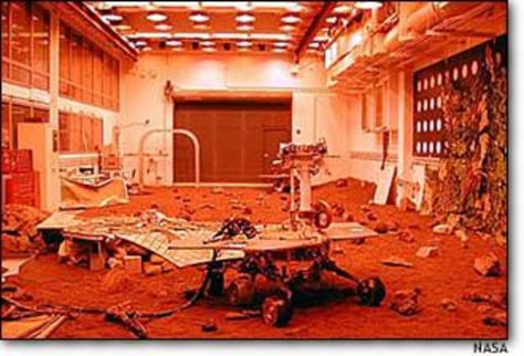 Image: Mars testbed