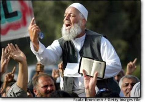 Image: Iraqis Protest Clerics Arrest