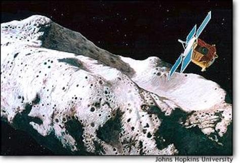 Image: Asteroid art